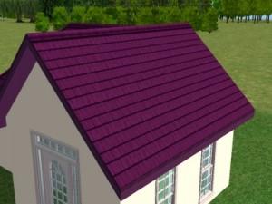 Skardinis namo stogas