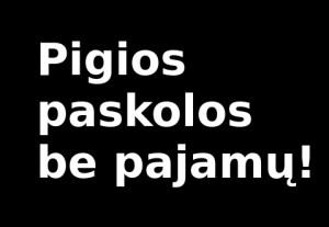 Paskolos