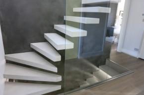 Laiptai iš betono